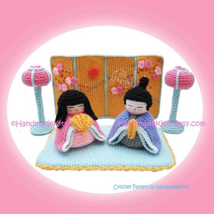 Amigurumi Japanese Doll : 17 Best images about HandMadeKitty on Pinterest Girl ...