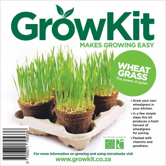 GrowKit Wheatgrass