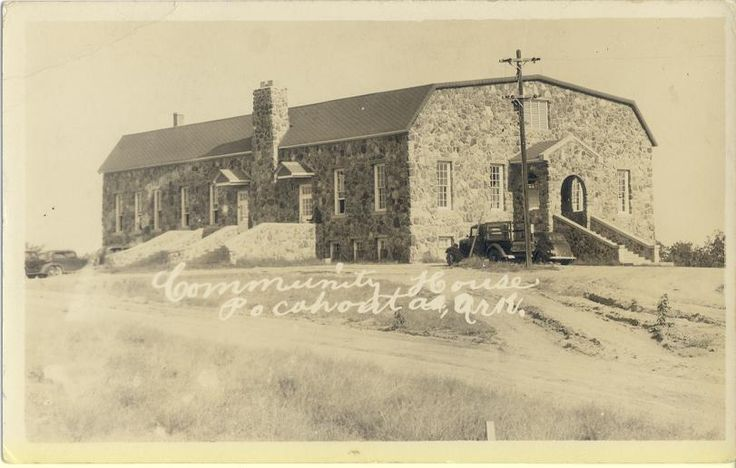 Southern Baptist College used this building in Pocahontas, AR after it opened in 1941.  SBC moved to Walnut Ridge, AR in 1947 and was renamed to Williams Baptist College in 1991