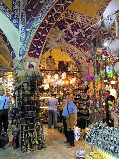 Love Istanbul. Grand Bazaar in Istanbul, Turkey was closed when we were there. Next time.