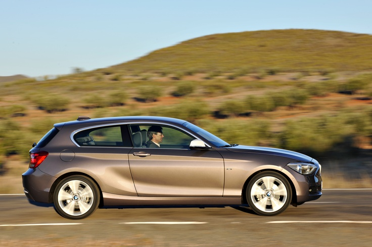 An M Sport package is available for the BMW 1 Series three-door model. #cars #bmw #model #door #sport