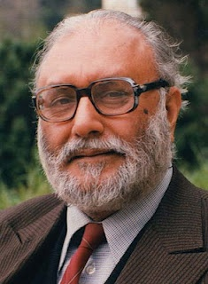 Abdus Salam was a Pakistani theoretical physicist and Nobel laureate in Physics for his work on the electroweak unification of the electromagnetic and weak forces. Salam, Sheldon Glashow and Steven Weinberg shared the 1979 Nobel prize for this discovery.