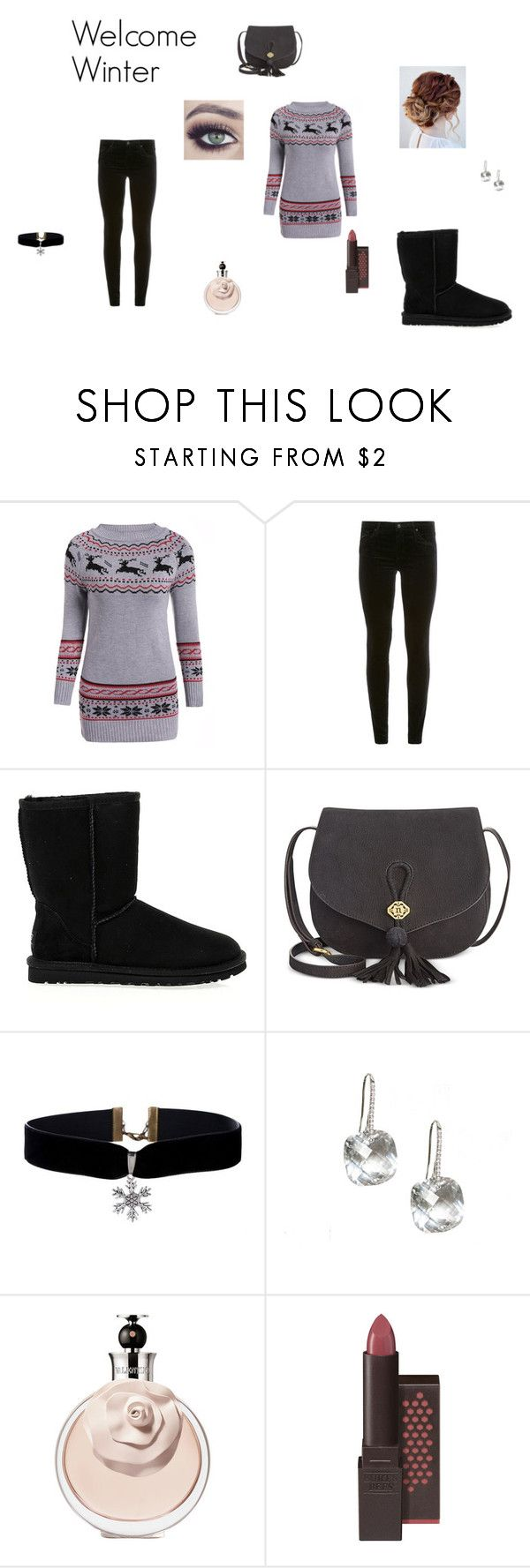 """""""Welcome Winter"""" by lizzie-raye ❤ liked on Polyvore featuring AG Adriano Goldschmied, UGG Australia and Nanette Lepore"""