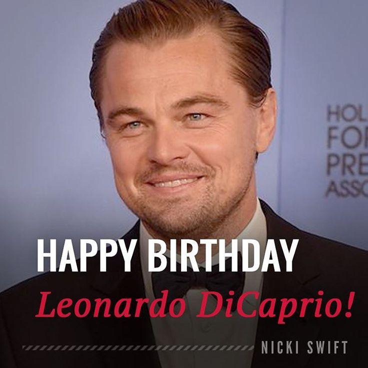 Happy birthday Leonardo DiCaprio! The actor is 42 years old today.    #leonardodicaprio #Leo #titanic #WolfofWallStreet #therevenant #Oscars #leonardodicapriofan
