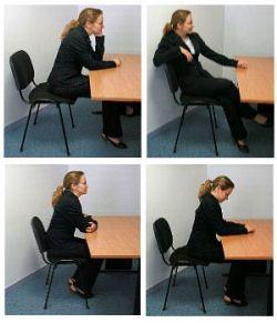 La posture en entretien d'embauche et les messages qu'elle envoie