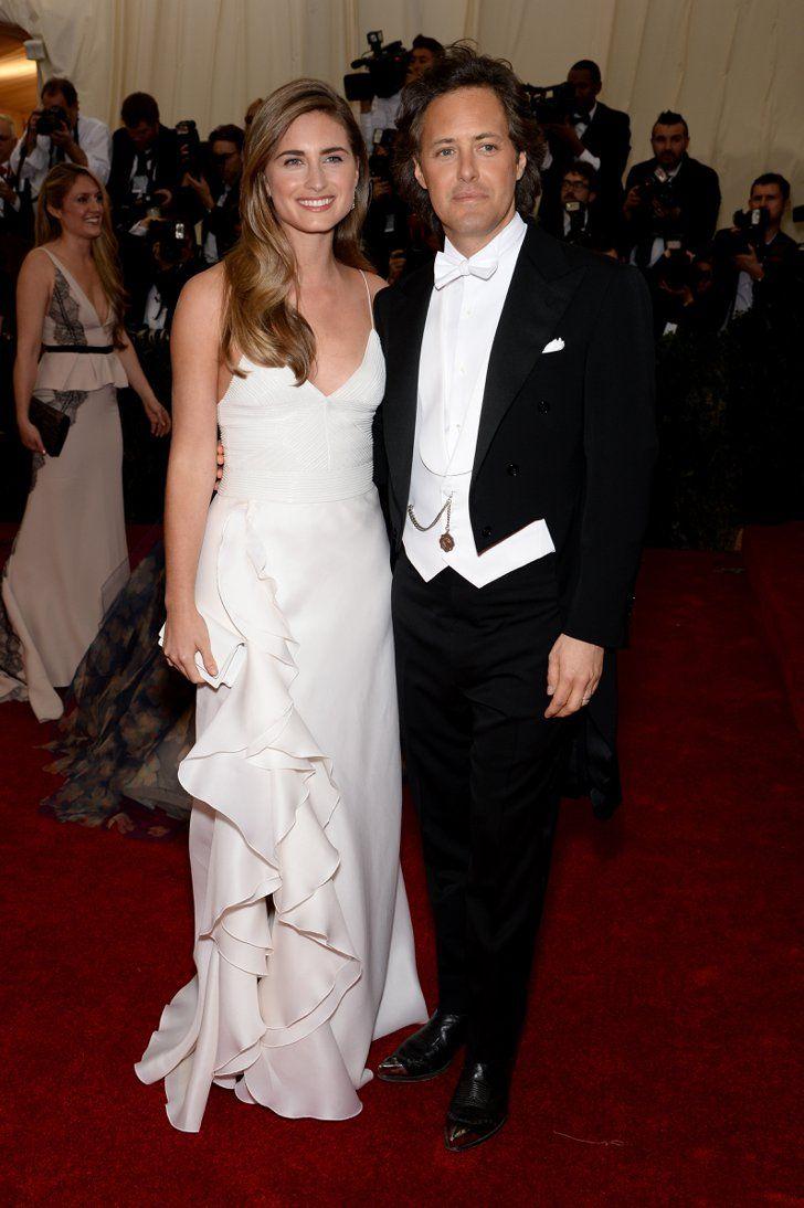 Pin for Later: Seid glamourös oder lasst es sein: Alle Stars vom roten Teppich der Met-Gala! Lauren Bush Lauren und David Lauren