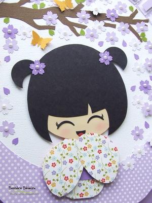fun-ideas handmade: Kokeshi para Julia                                                                                                                                                                                 Mais