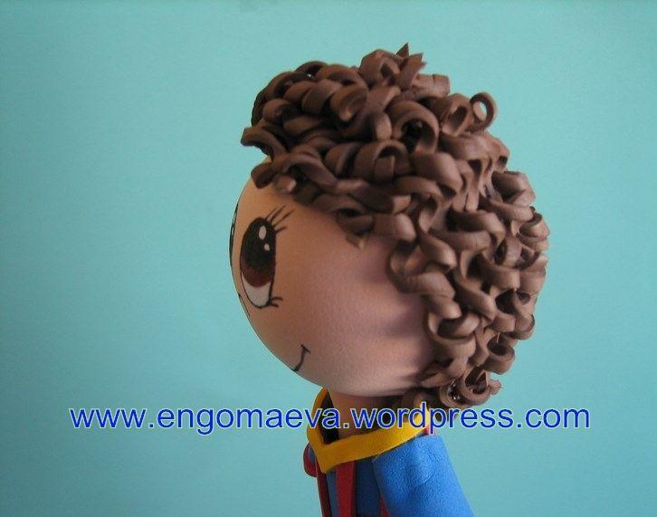 Peinado Pelo Rizado Ni 241 O Perfil Hairstyle Curly