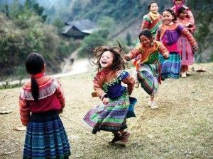 petites filles qui rient