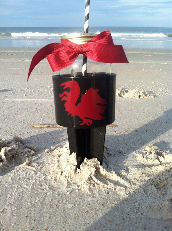 South Carolina Gamecock Beach SpikerDrink by TooCutePersonalized, $13.00
