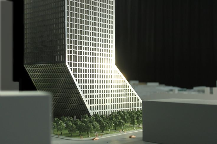 Guangdong Baosteel Building Competition Entry. OMA (2012)