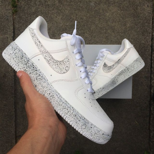 pretty cool online shop fantastic savings Nike AF1 - Monochrome Speckle in 2020   Nike shoes air force, Hype ...