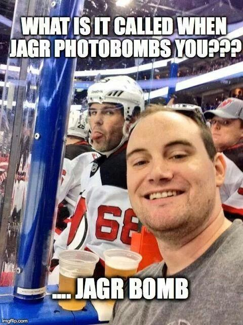 Not a Devils fan, but this is still funny       Gotta be a Jagr fan He's the new Gordie Howe,JJ will be around 4 a few more years w/ Fla Rats