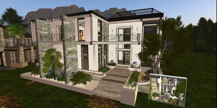The Architectural Vision of SkyeRyder Varriale | Unforgettable Magazine | #SecondLife