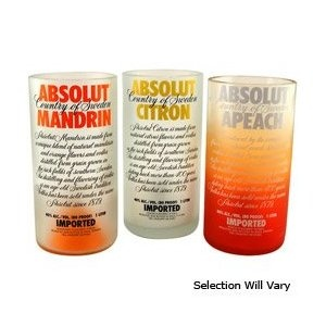 Absolut Vodka Bottle Tumblers!
