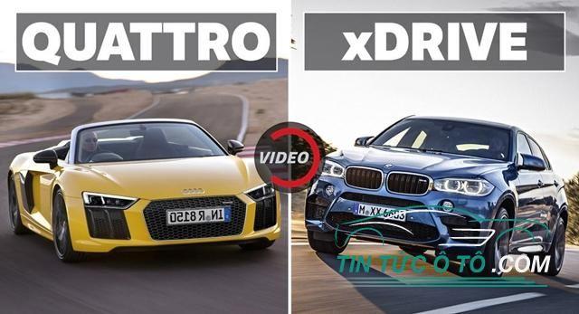 Cuộc chiến hệ thống dẫn động Audi Quattro và BMW xDrive