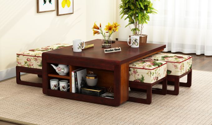 Buy Vesta Coffee Table Online In India Furniture Wooden Street