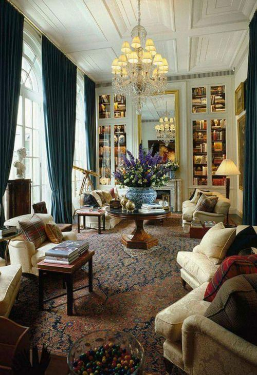 Ralph Lauren's new VIP boutique, by appointment only; a Milan palazzo, a former residence built in 1941.