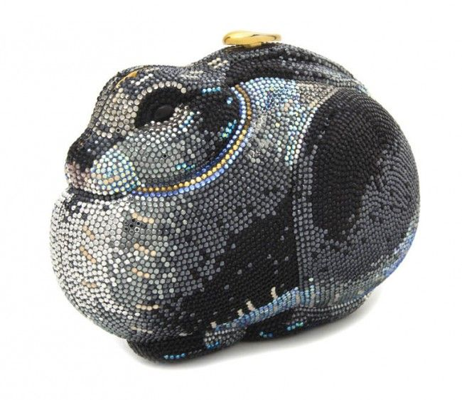Minaure Judith Leiber Rabbit Premium Designer Outlet Online Boutique At Luxlu Pinterest Purses And Handbags