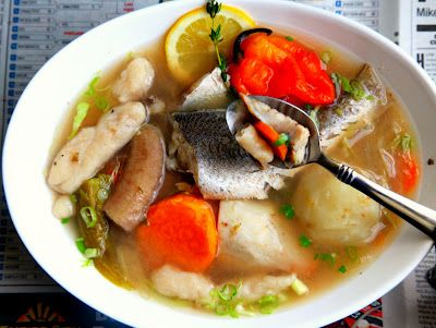 Trinidad Fish Broth (Fish Brof) - u have to try this its perfect! (for hangover :))