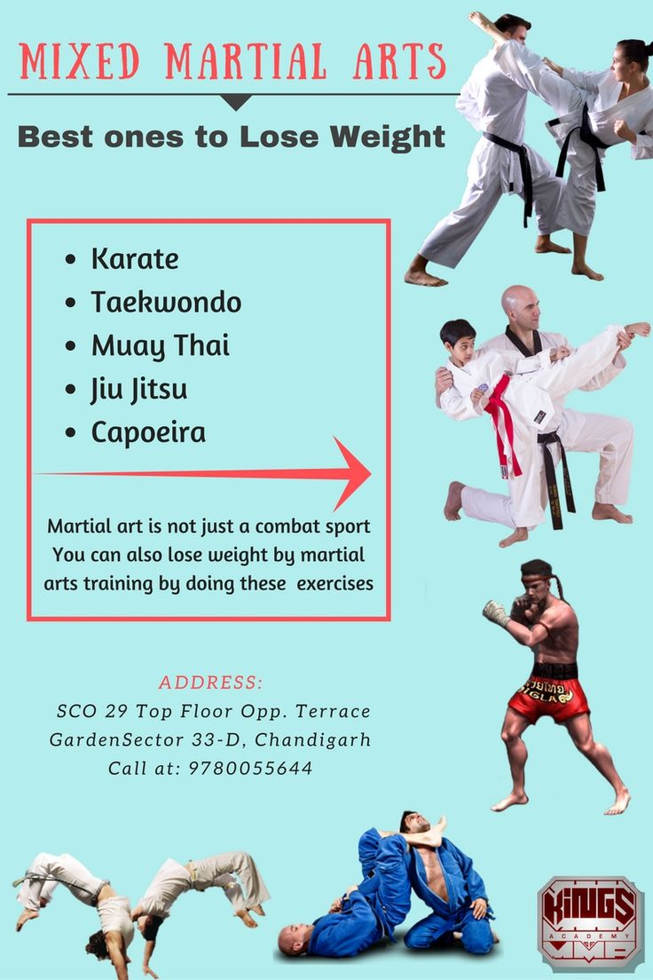 Looking for the hobby classes for kids in Chandigarh? Then enrol your kids in training in martial art, it is not only a combat sport for self-defence but is also beneficial in helping your kids to be self-confident and disciplined. It also helps in weight loss, focus and goal setting. For more information visit our website: http://mmagymchd.com/blog/mixed-martial-arts-best-ones-lose-weight/