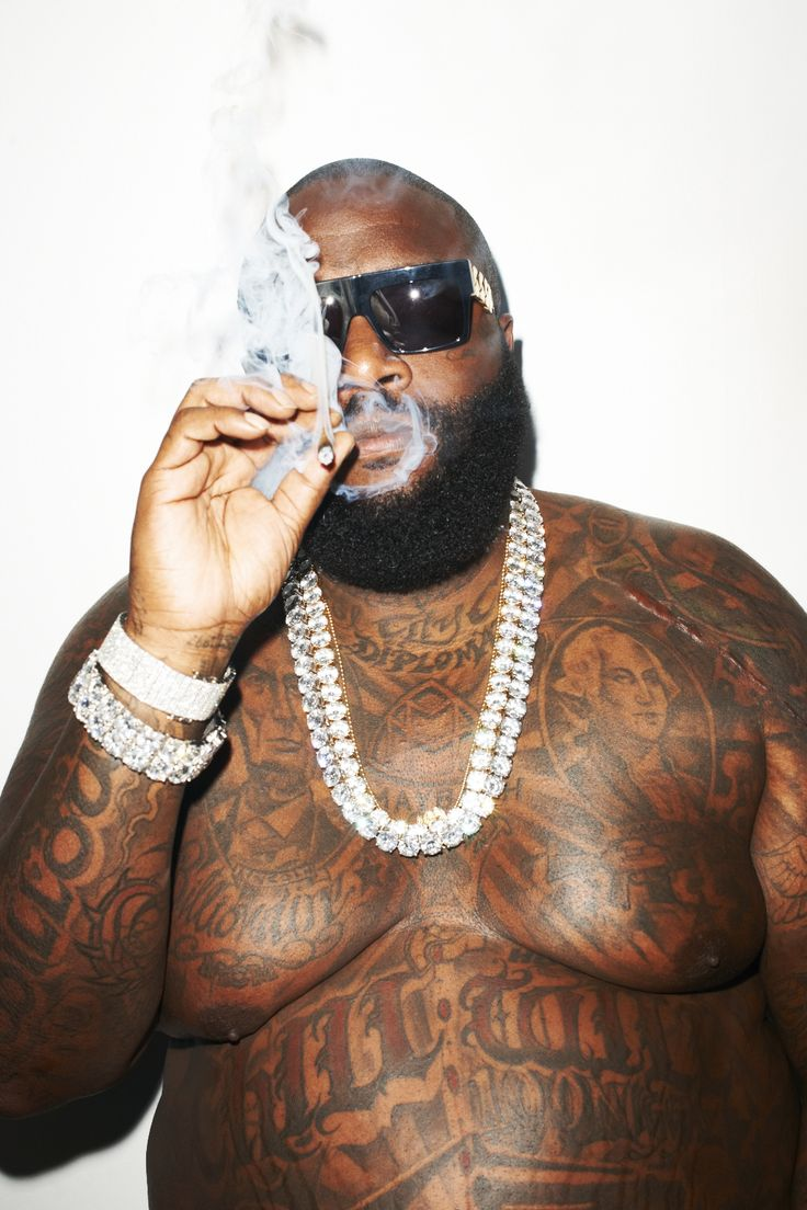 Rick Ross at my studio #8