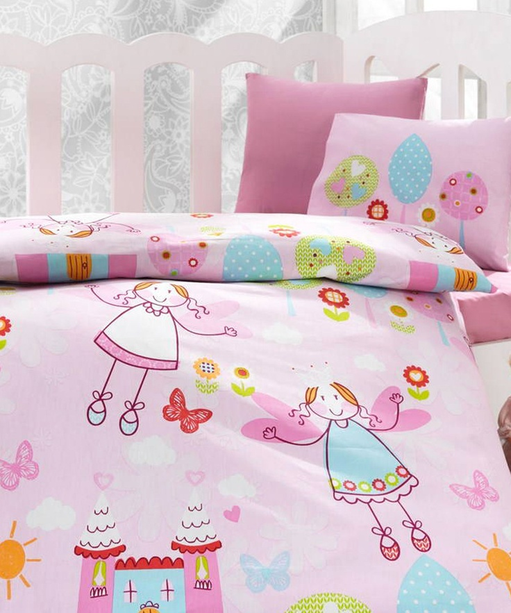 Cute Pillow Sets : Fairies Cot Linen Set Kids Spaces - design and organization Pinterest Cute pillows, Cots ...