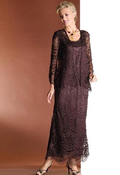 49c8c56aaee69 Soulmates 3 Piece Mother of the Bride Dress C1060