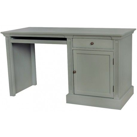 Proste z nutką elegancji biurko prowansalskie z szufladą oraz półką.  Więcej na : www.lawendowykredens.pl