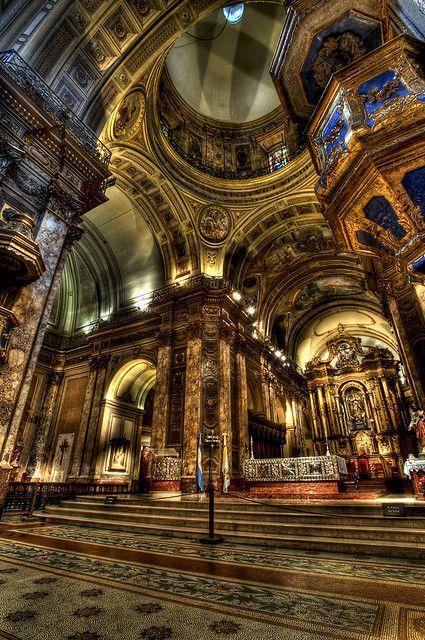 Cathedral Metropolitana, Buenos Aires, Argentina. Photo: MDSimages.com/?utm_content=buffer86437&utm_medium=social&utm_source=pinterest.com&utm_campaign=buffer via flickr