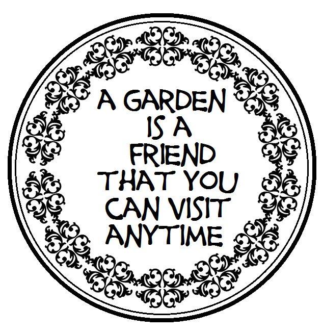 A garden....