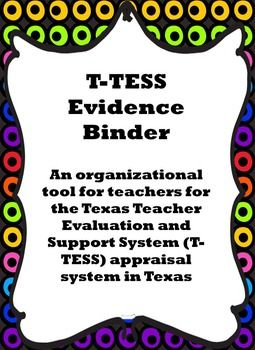 **Attention Texas Teachers!**  If you are looking for a way to keep yourself organized for the T-TESS, Texas' new appraisal system, then this may be the product for you!  This document has domain headers for each of the 4 domains and their dimensions with explanation as provided on the T-TESS rubric.