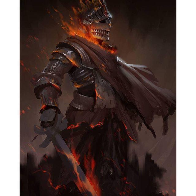 159/366.  Soul of Cinder. #darksouls