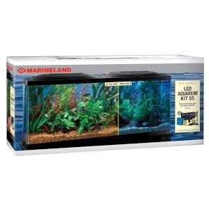 LED Aquarium Kit with BIO Wheel 55G