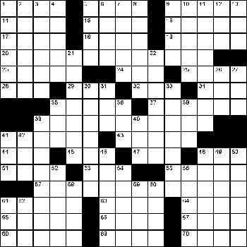 17 best Crossword Puzzles images on Pinterest Crossword - blank crossword template