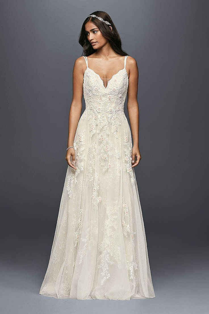 David's Bridal has a variety of beach & destination wedding ...