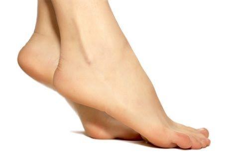 Flexiones de los dedos de los pies