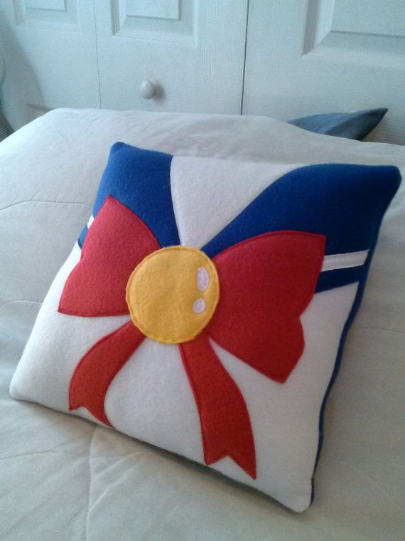 Sailor Moon Plush Pillow by CynicalSniper on Etsy, $21.13