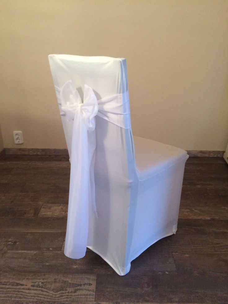 Bérelhető spandex székszoknya fehér színű selyem masnival Érd