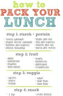 Have your kids pack their own lunches. | 27 School Lunch Tips That Will Keep You Sane