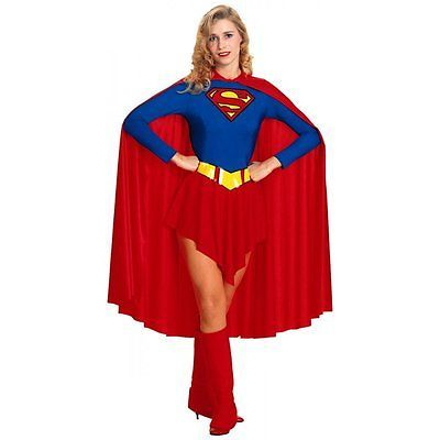 Supergirl adult ladies #female superhero fancy #dress costume outfit #s/m/l, View more on the LINK: http://www.zeppy.io/product/gb/2/141809384686/