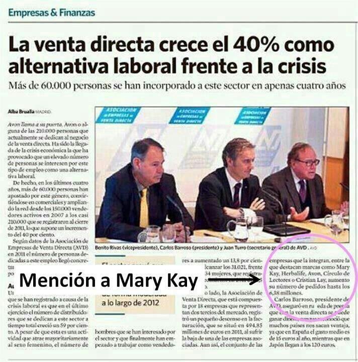 No puedes dejar de perder la oportunidad de trabajar con Mary Kay.Te cambiará la vida!!! http://marykay.es/casti