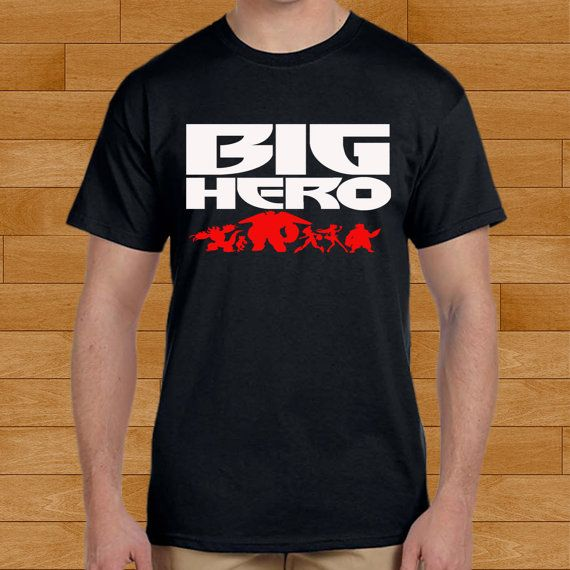 Big Hero 6 design for men and women t-shirt by bobotooh on Etsy