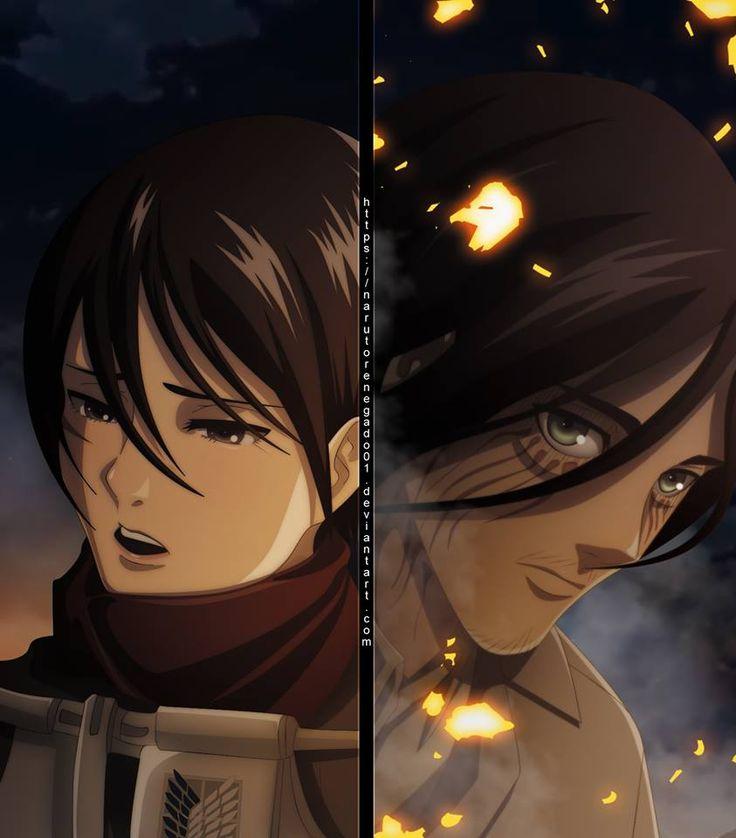 Eren & Mikasa no shippy no ship