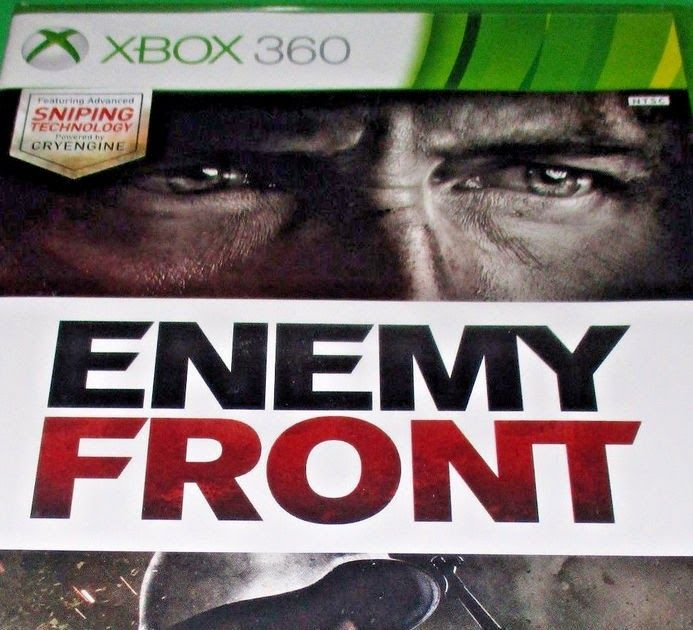 Enemy Front (Microsoft Xbox 360 2014) GAME NEW & FACTORY SEALED!!!