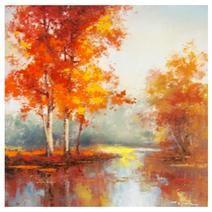 Autumn Trees Canvas