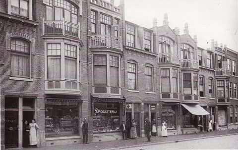 Weimarstraat rond 1912.
