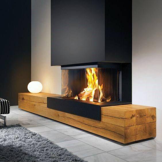 Die 70 besten modernen Kamin-Design-Ideen – Luxus-…