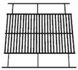 21st Century B21A1 Large Porcelain Adjustable Grid by 21st Century. $26.52. Measures 22 1/4-inch left to right and will fit a grill up to 21-inch. Adjustable from 14-inch to 18-inch front to back. Universal for any grill that uses this size/shape grid. Large Porcelain Adjustable Grid