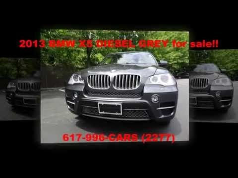 2013 BMW X5 DIESEL GREY, for sale, Foreign Motorcars Inc, Quincy MA, BMW Service, BMW Sales - YouTube